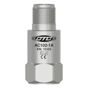 CTC 100mV/g Standard Size Accelerometers