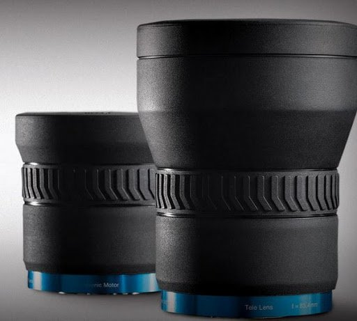 FLIR IR thermography camera lens