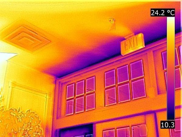 FLIR IR thermography camera